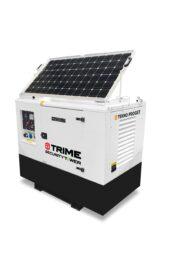 Hybride generator voor verplaatsbare cameramasten