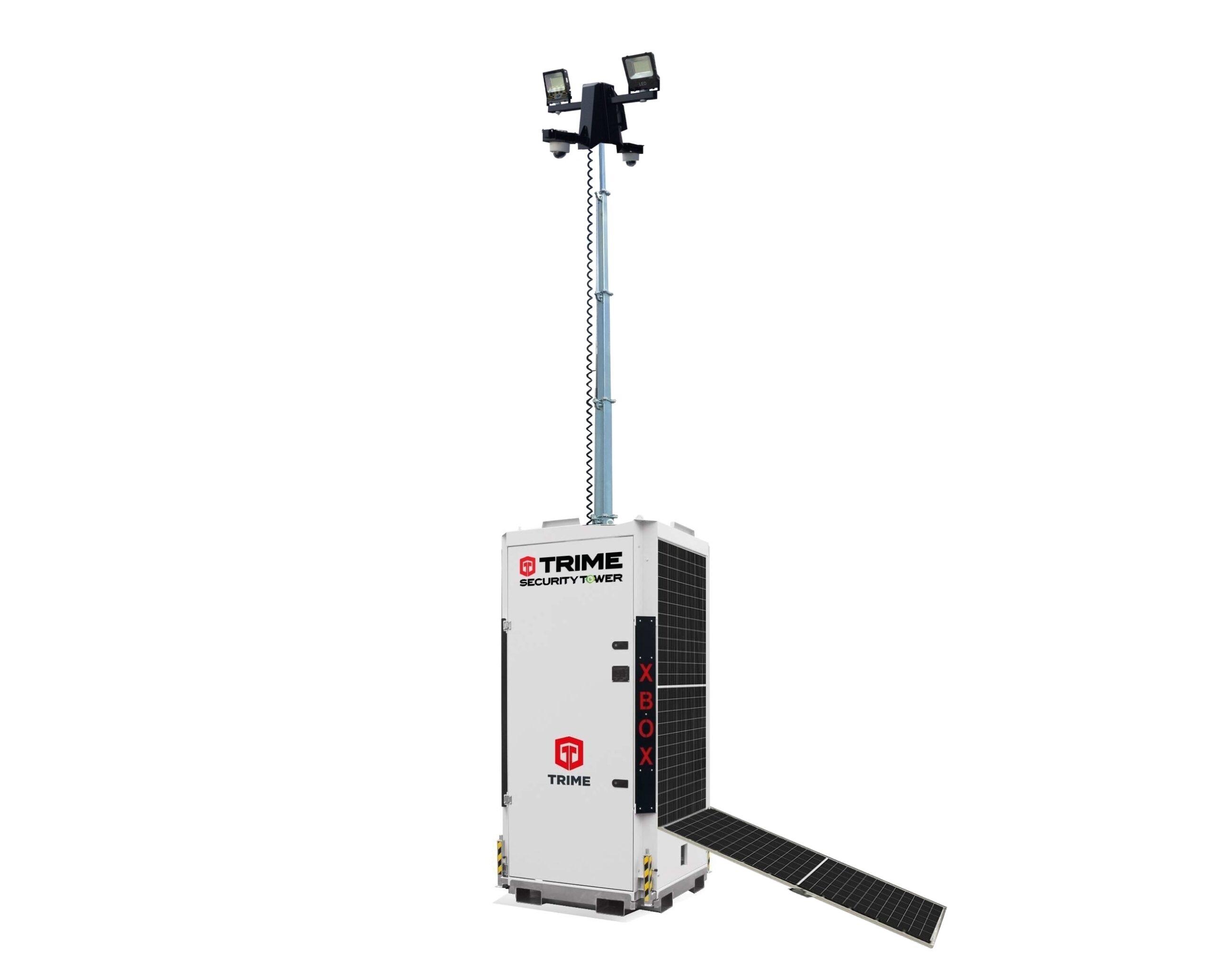 Cameramast met zonnepanelen kopen